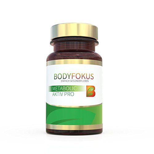 bodyfokus metabolic aktiv pro 1 dose natuerliche aktivierung des stoffwechsels und unterstuetzung der gewichtsreduktion - BodyFokus Metabolic Aktiv Pro (1 Dose) - Natürliche Aktivierung des Stoffwechsels und Unterstützung der Gewichtsreduktion...